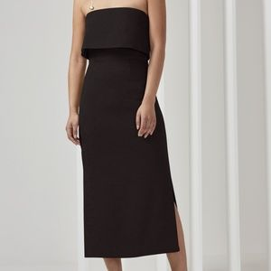 C/MEO Collective Black Love Like This Strapless Dr